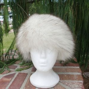 Plush Fox Fur Hat From Germany So Dr Zhivago Sexy